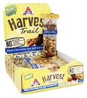 Atkins Nutritionals Inc. - Harvest Trail Bar Dark Chocolate Sea Salt Caramel - 9 Bars