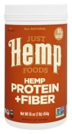 Just Hemp Foods - All Natural Hemp Protein + Fiber - 16 oz.