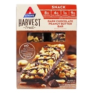 Atkins Nutritionals Inc. - Harvest Trail Bar Dark Chocolate Peanut Butter - 5 Bars