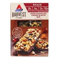 Atkins Nutritionals Inc. - Harvest Trail Bar Dark Chocolate Cherry & Nuts - 5 Bars