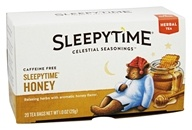 Celestial Seasonings - Sleepytime Herbal Tea Caffeine Free Honey - 20 Tea Bags