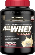 AllMax Nutrition - AllWhey Gold Premium Isolate/Whey Protein Blend French Vanilla - 2 lbs.