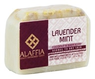 Alaffia - Coconut & Shea Bar Soap Lavender Mint - 3 oz.
