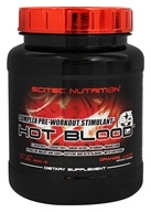 Scitec Nutrition - Hot Blood 3.0 Complex Pre-Workout Stimulant Orange Juice - 1.8 lbs.