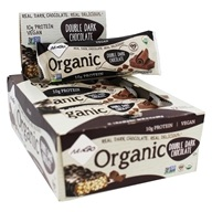 NuGo Nutrition - Organic Bars Box Double Dark Chocolate - 12 Bars