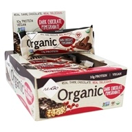 NuGo Nutrition - Organic Bars Box Dark Chocolate Pomegranate - 12 Bars