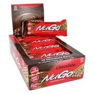 NuGo Nutrition - To Go Protein Bars Box Chocolate - 12 Bars