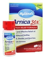 Hylands - Arnica Pain Relief Formula 30 X - 50 Quick Dissolve Tablets
