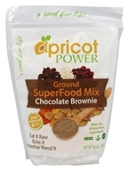 "Apricot Power - ""brownie"" moulu de chocolat de mélange de Superfood - 30 once."