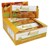Apricot Power - Whole Food Bars Apricot - 12 Bars