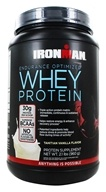 IronMan - Endurance Optimized Whey Protein Tahitian Vanilla - 2.1 lbs.