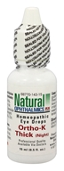 Natural Ophthalmics - Ortho-K Thick (Night) Homeopathic Eye Drops - 0.5 oz.
