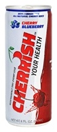 Cherrish - Montmorency Tart Cherry Juice Cherry Blueberry - 8 oz.