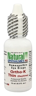 Natural Ophthalmics - Ortho-K Thin (Daytime) Homeopathic Eye Drops - 0.5 oz.