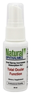 Natural Ophthalmics - Total Ocular Function Spray - 30 ml.