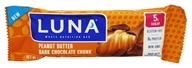 Clif Bar - Luna Dark Chocolate Bar Peanut Butter Crunch - 1.48 oz.