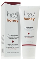 Hey Honey - Come Clean Facial Scrub - 2.2 oz.