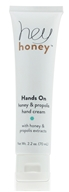 Hey Honey - Hands On Honey & Propolis Hand Cream - 2.2 oz.