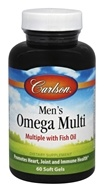 Carlson Labs - Men's Omega Multi - 60 Softgels