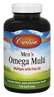 Carlson Labs - Men's Omega Multi - 120 Softgels