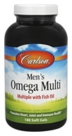 Carlson Labs - Men's Omega Multi - 180 Softgels