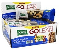 Kashi - GoLean Plant-Powered Bar Dark Chocolate Cashew Chia - 12 Bars