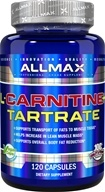 AllMax Nutrition - L-Carnitine + Tartrate - 120 Vegan Caps
