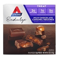 Atkins Nutritionals Inc. - Endulge Milk Chocolate Caramel Squares - 6 oz.