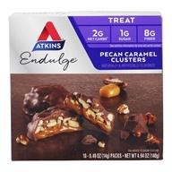 Atkins Nutritionals Inc. - Endulge Pecan Caramel Clusters - 5 Pack(s)