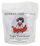 Herban Essentials - Yoga Towelette - 20 Count
