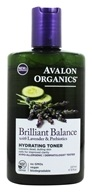 Avalon Organics - Brilliant Balance with Lavender & Prebiotics Hydrating Toner - 8 oz.