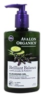 Avalon Organics - Brilliant Balance with Lavender & Prebiotics Cleansing Gel - 8 oz.