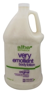 Alba Botanica - Very Emollient Body Lotion Original Unscented  - 1 Gallon