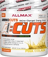 AllMax Nutrition - AminoCuts Energy Drink Pina Colada - 7.4 oz.
