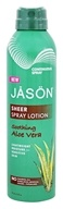 JASON Natural Products - Sheer Spray Lotion Soothing Aloe Vera - 6 oz.