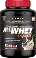 AllMax Nutrition - AllWhey Gold Premium Isolate/Whey Protein Blend Cookies & Cream - 5 lbs.