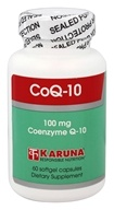 Karuna Nutrition - CoQ-10 100 mg. - 60 Softgels