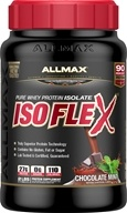 AllMax Nutrition - IsoFlex Pure Whey Protein Isolate Chocolate Mint - 2 lbs.