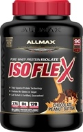 AllMax Nutrition - IsoFlex Pure Whey Protein Isolate Chocolate Peanut Butter - 5 lbs.