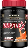 AllMax Nutrition - IsoFlex Pure Whey Protein Isolate Orange Dreamsicle - 2 lbs.