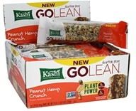 Kashi - GoLean Plant-Powered Bars Peanut Hemp Crunch - 12 Bars