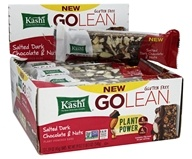 Kashi - GoLean Plant-Powered Bars Salted Dark Chocolate & Nuts - 12 Bars