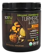 SoTru - Organic Fermented Turmeric & Ginger Drink Mix - 4.76 oz.