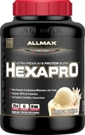 Hexapro Ultra-Premium 6-Protein Blend French Vanilla - 5.5 lbs. by AllMax Nutrition