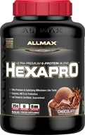 AllMax Nutrition - Hexapro Ultra-Premium 6-Protein Blend Chocolate - 5.5 lbs.