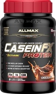 AllMax Nutrition - CaseinFX Ultra-Slow Release Protein Chocolate - 2 lbs.