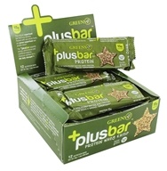 Greens Plus - +Plusbar Bars Box Protein Whey Crisp - 12 Bars