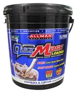 AllMax Nutrition - QuickMass Loaded Cookies & Cream - 10 lbs.
