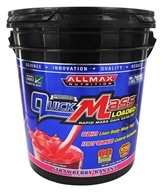 AllMax Nutrition - QuickMass Loaded Strawberry Banana - 10 lbs.
