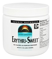 Source Naturals - Erythri-Sweet - 12 oz.